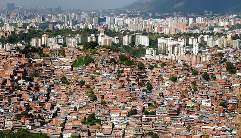 les bidonvilles de Caracas