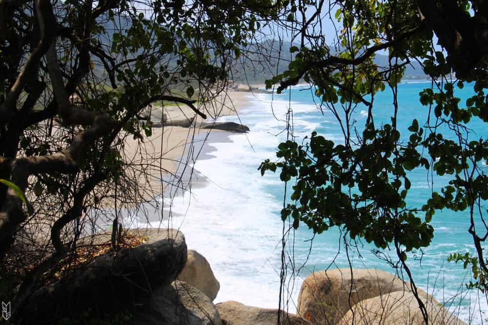 les plages du Parc Tayrona