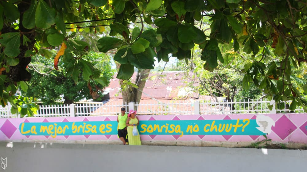dans les rues de San Andrés