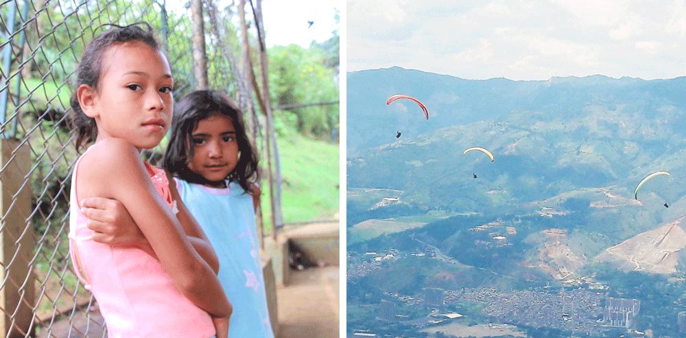 Comuna 8 & saut en parapente