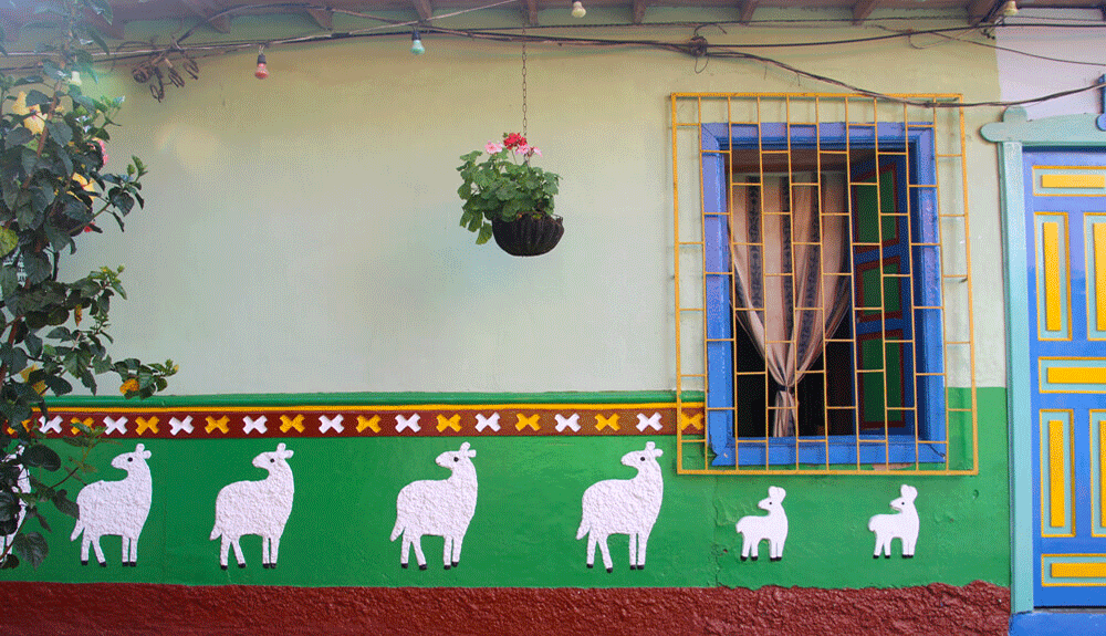 le village de Guatapé