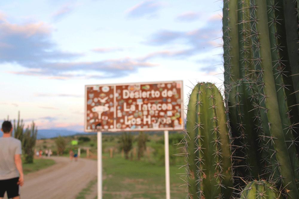 l'entrée du désert de Tatacoa