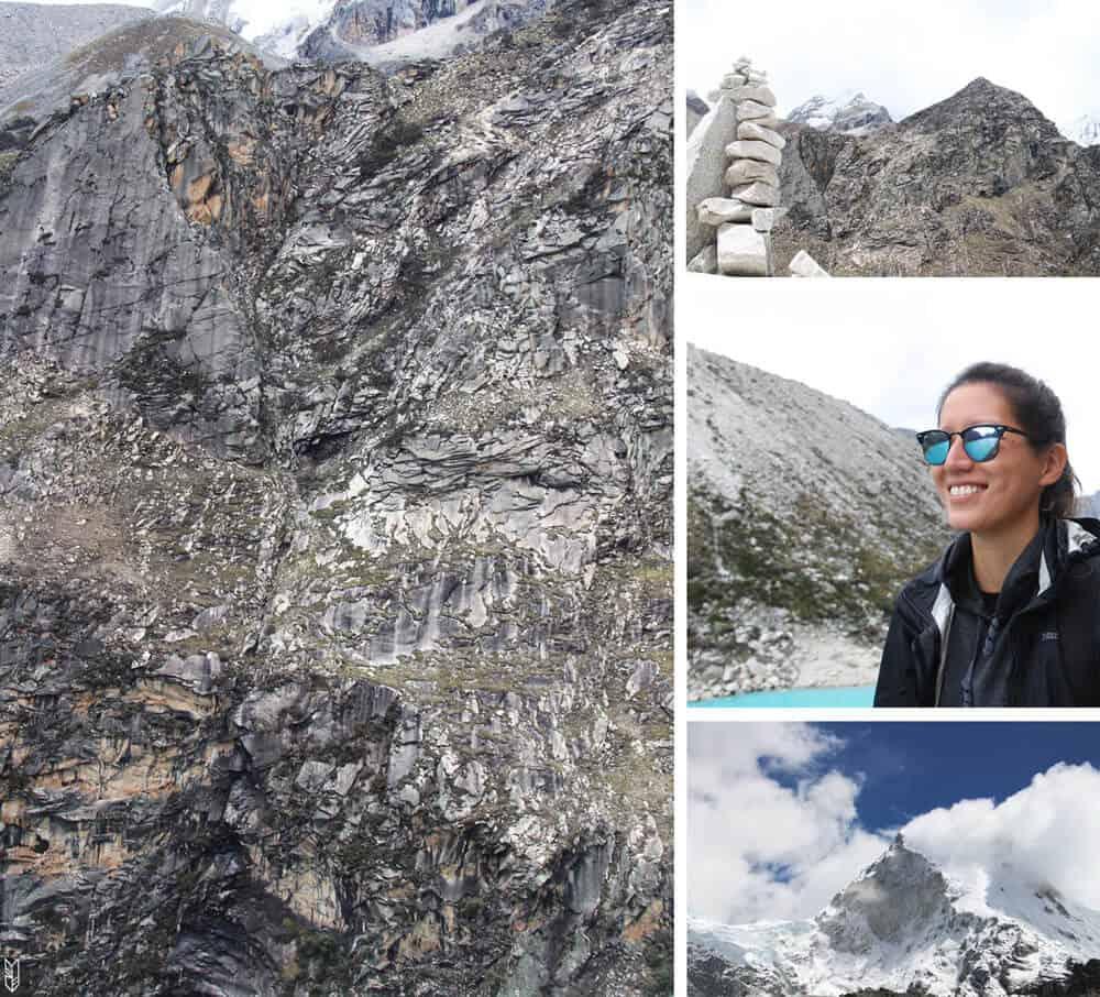 trekking à la laguna Paron