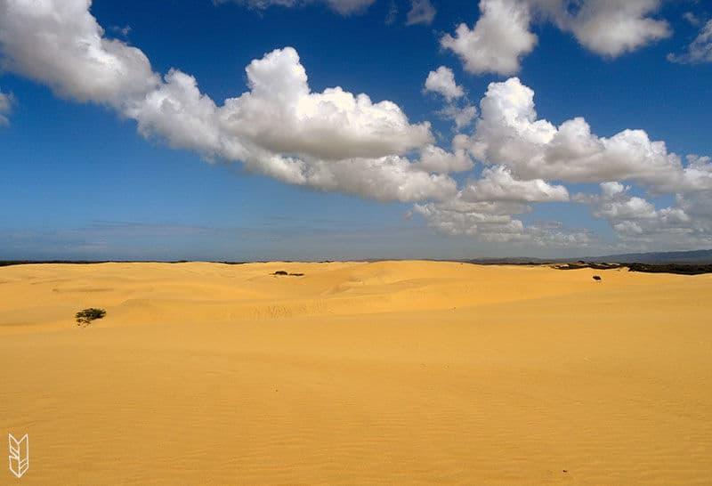 le desert de Como, au Venezuela