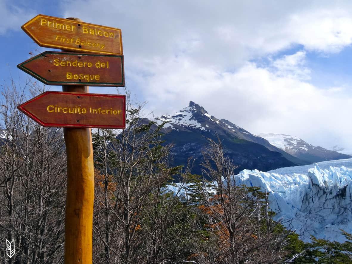aller voir les glaciers de Patagonie