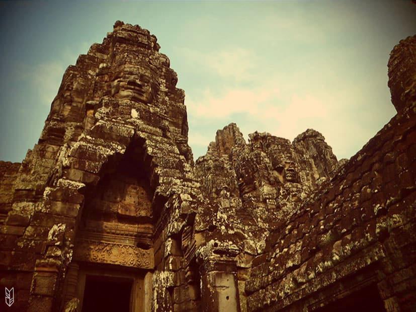 Bayon, temples dAngkor - Cambodge