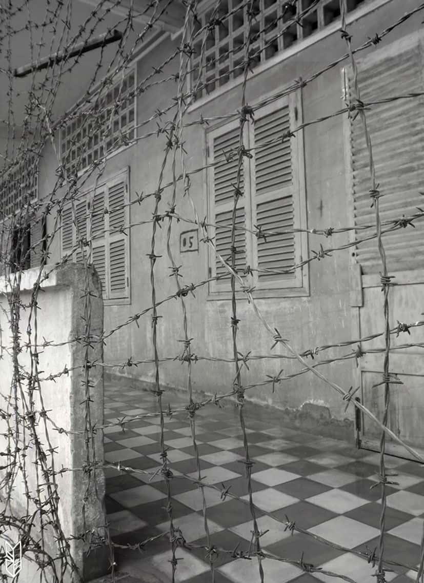 prison Toul Sleng, Phnom Penh - Cambodge