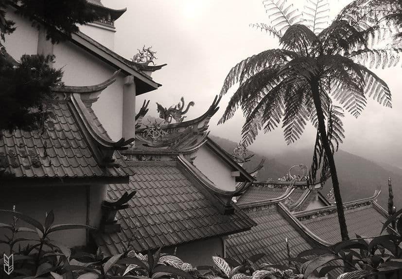 le temple de Genting Highland en Malaisie