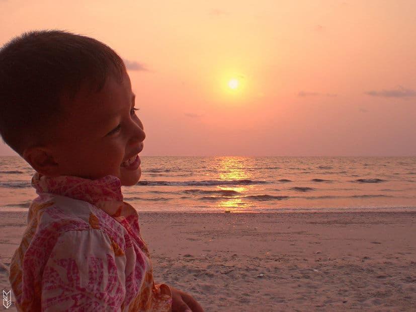le sourire des Cambodgiens
