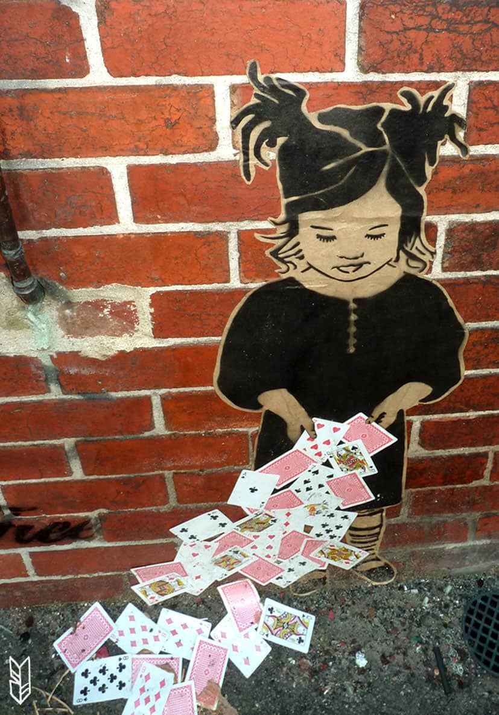 Collage, Street Art à Brunswick, Melbourne
