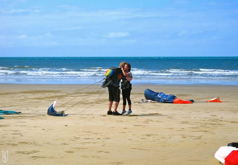 un Saut en Parachute à Mission Beach