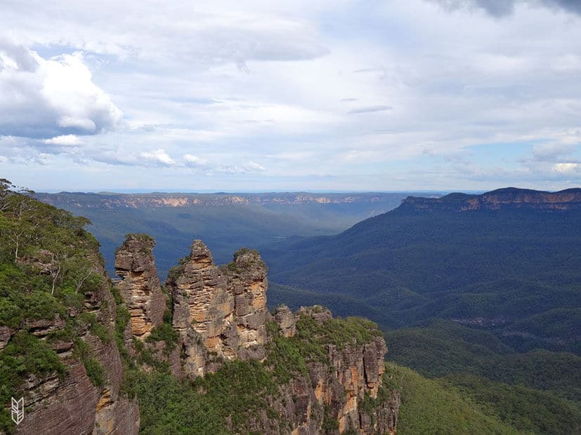 Three Sisters au Blue Mountains