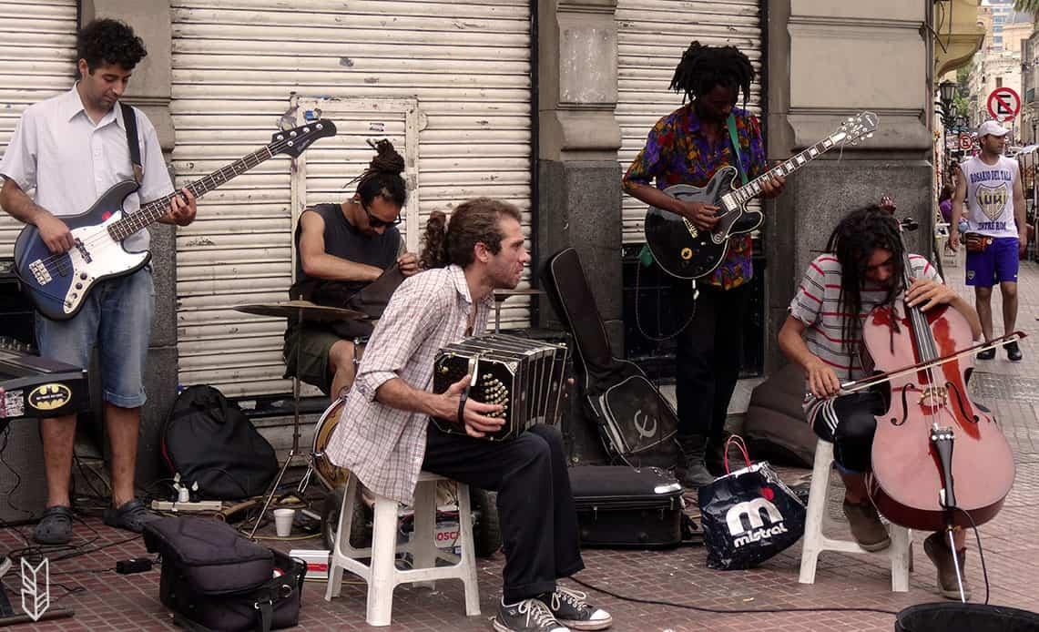 Les spectacles de rue à Buenos Aires en Argentine