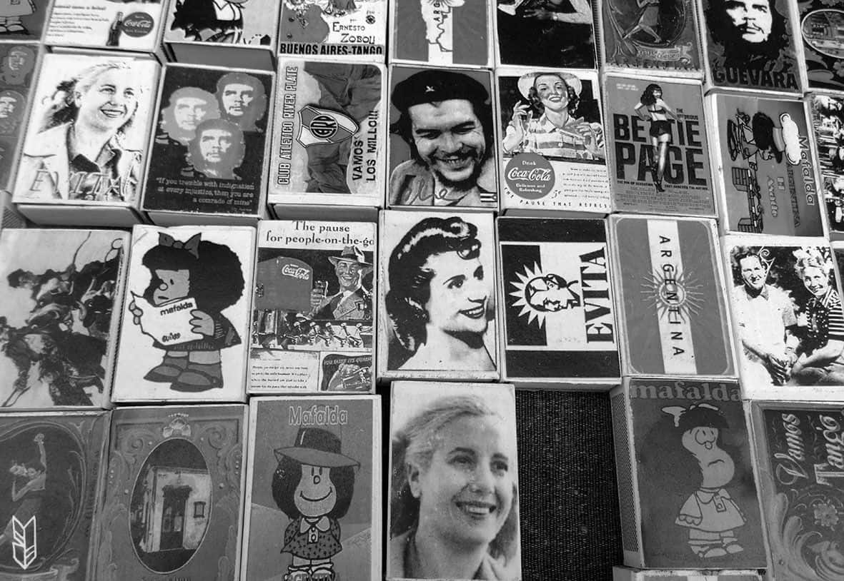 Le Che, Evita, Mafalda et les autres...