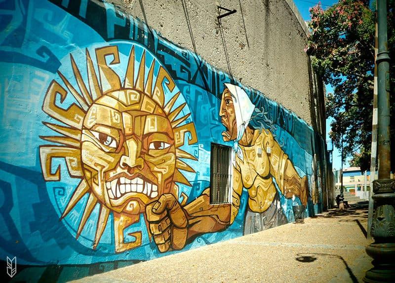 les graffitis du quartier de la Boca
