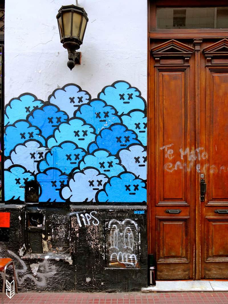 Les nuages de San Telmo - Buenos Aires