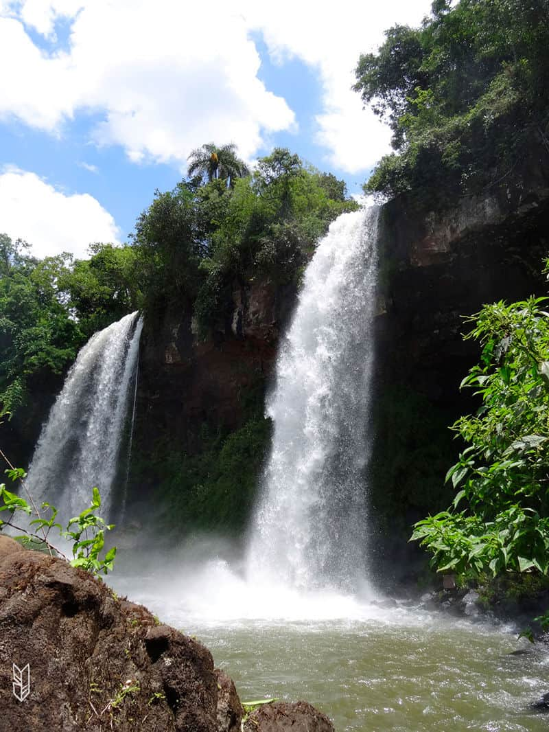 les cascades d'Iguazu