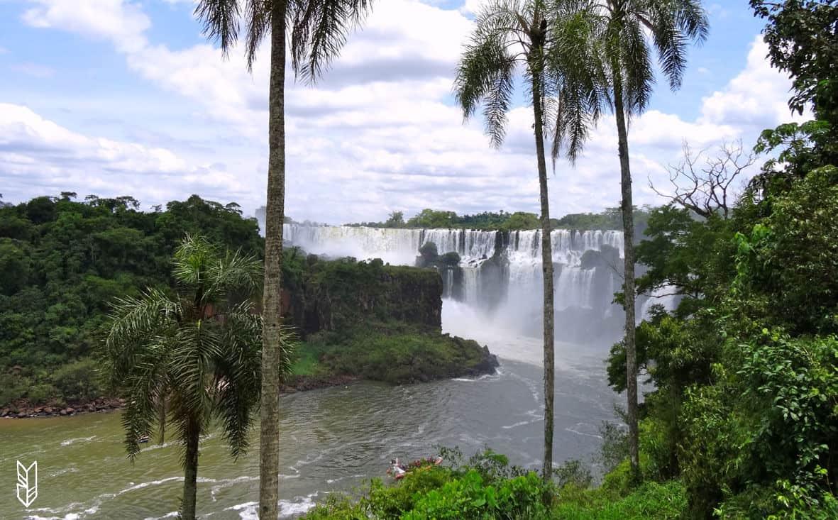 le parc d'Iguazu