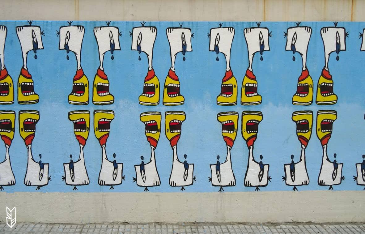 Street Art Amérique du Sud