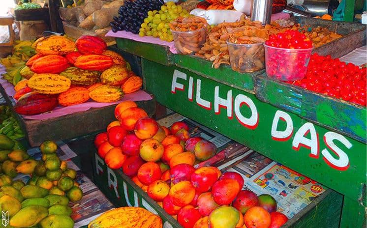 les fruits du Brésil