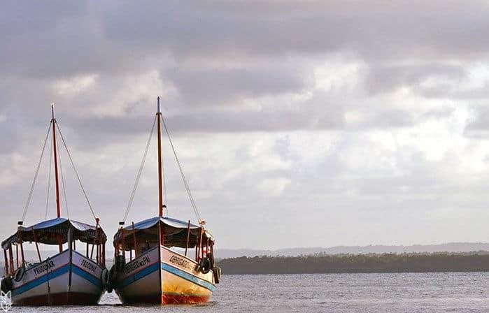 des vacances à Morro, au Brésil
