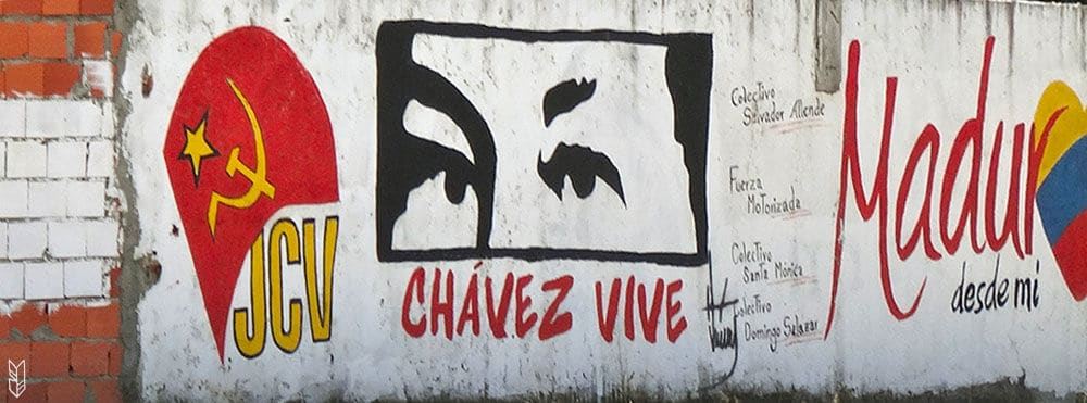 Chavez is watching you!