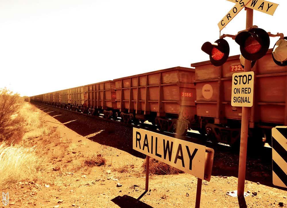 regarder passer le train pendant 10 min en Australie