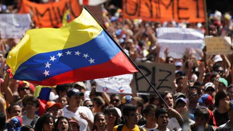 les manifestations au Venezuela