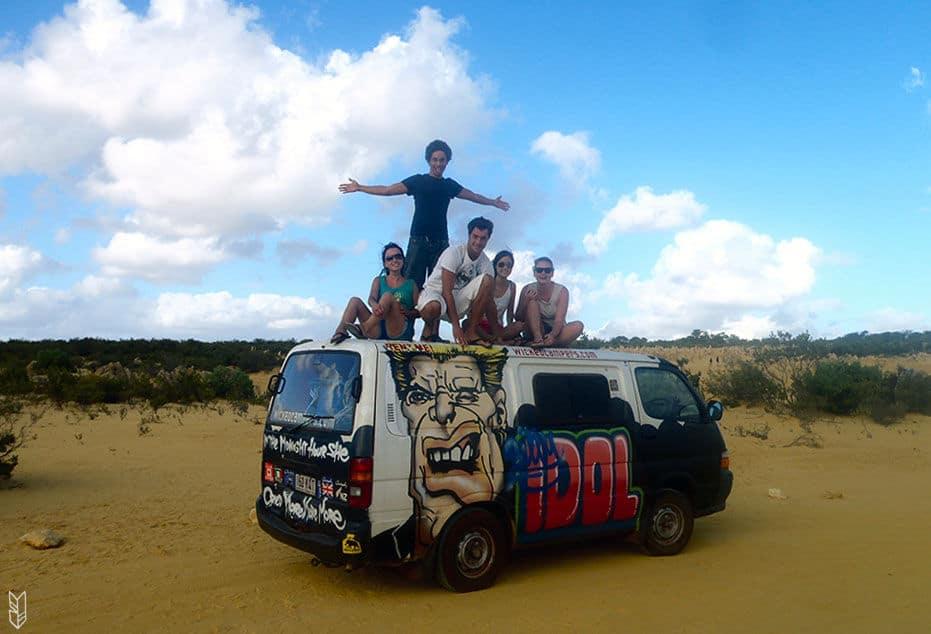 faire un Road Trip en van en Australie