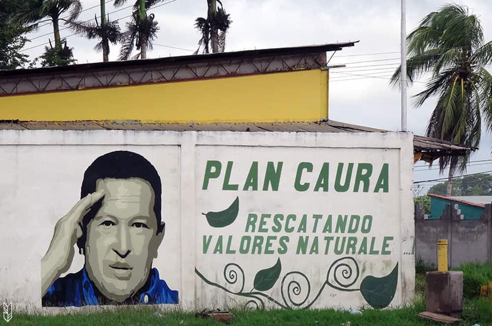 la propagande pro Chavez au Venezuela