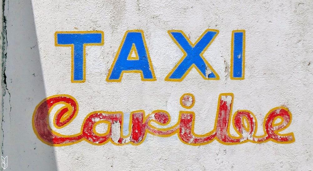 taxi Caribe - voyage au Venezuela