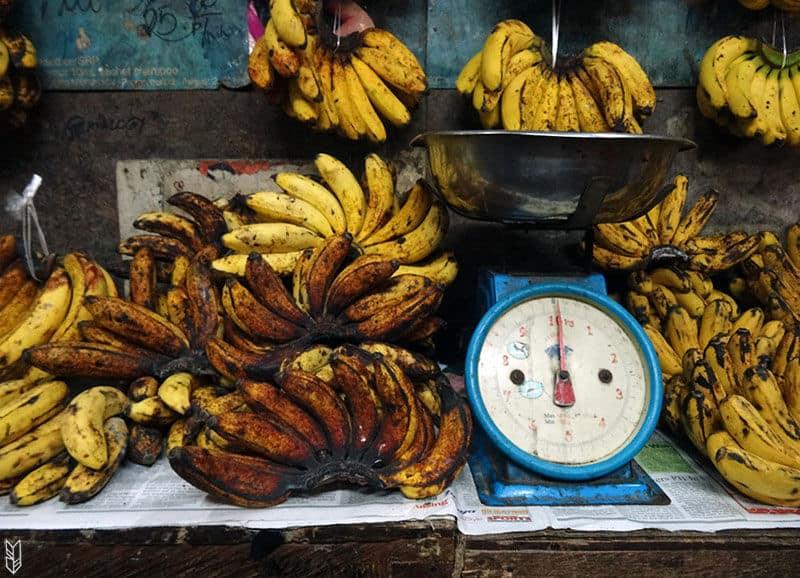un marché aux Philippines