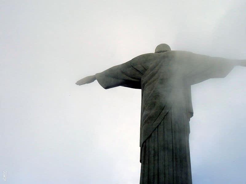 le Christ Redempteur à Rio de Janeiro
