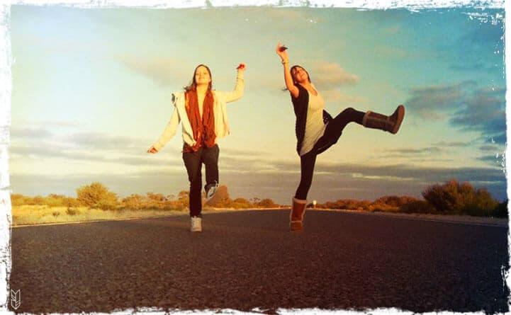 road trip entre copine en Australie