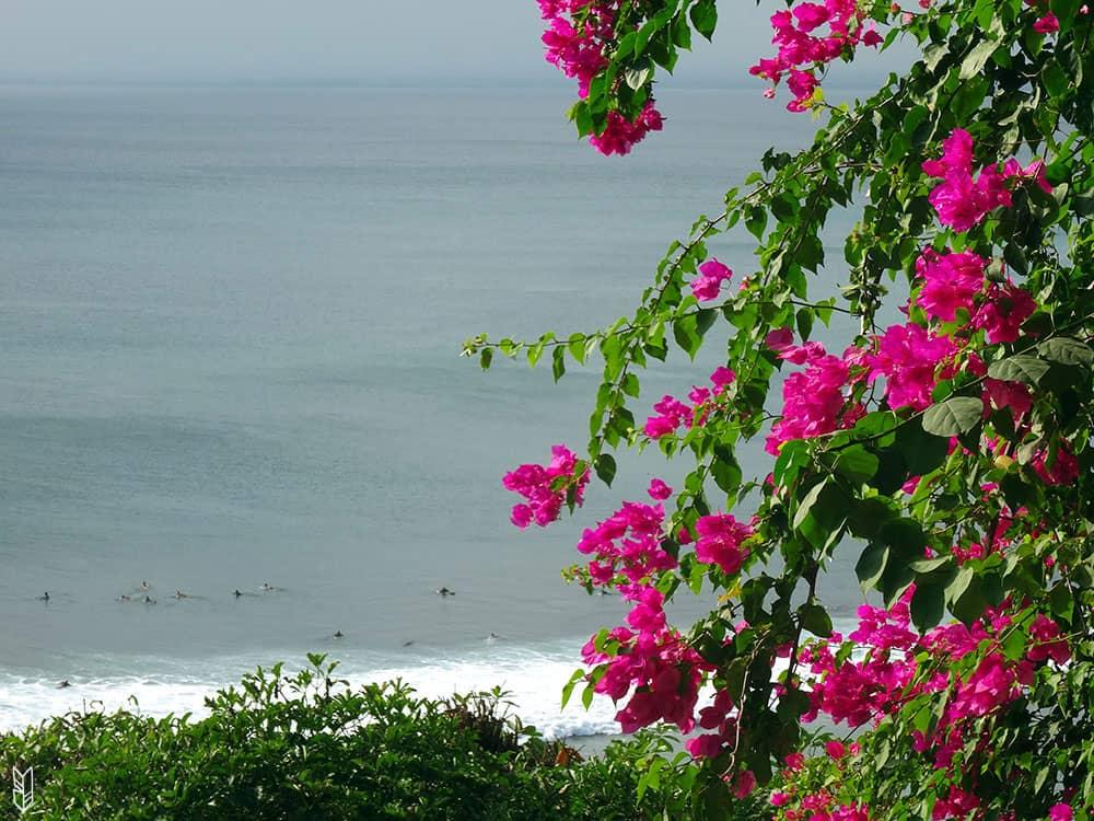 surfer à Uluwatu