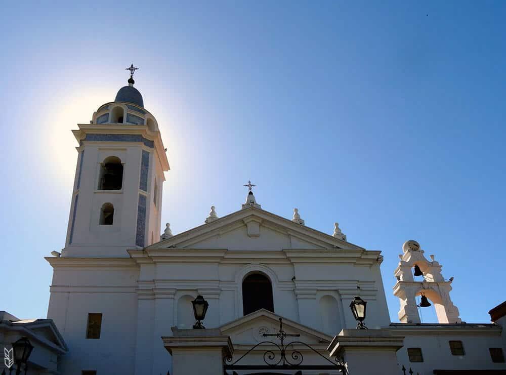 l'église de la Recoleta