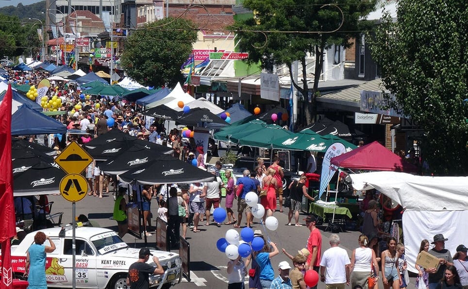 street market à Newcastle