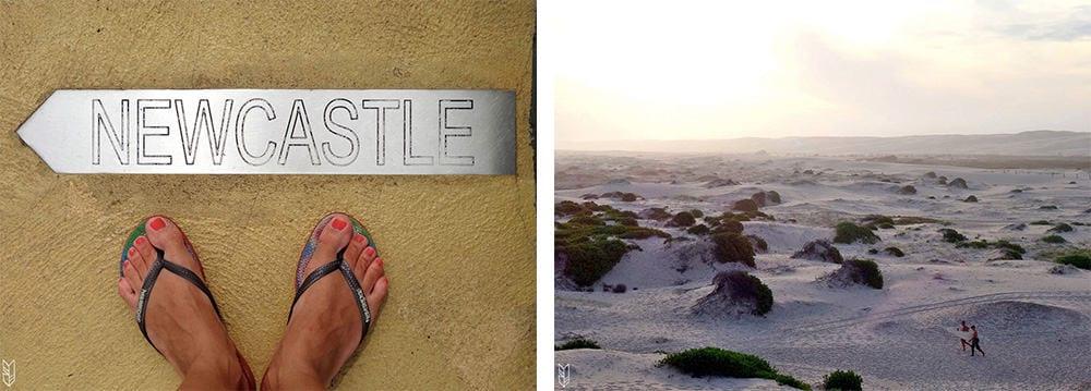 plages de Newcastle - Australie