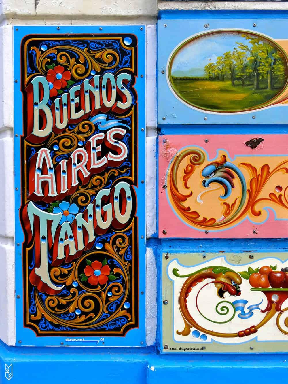 un voyage haut en couleurs à Buenos Aires