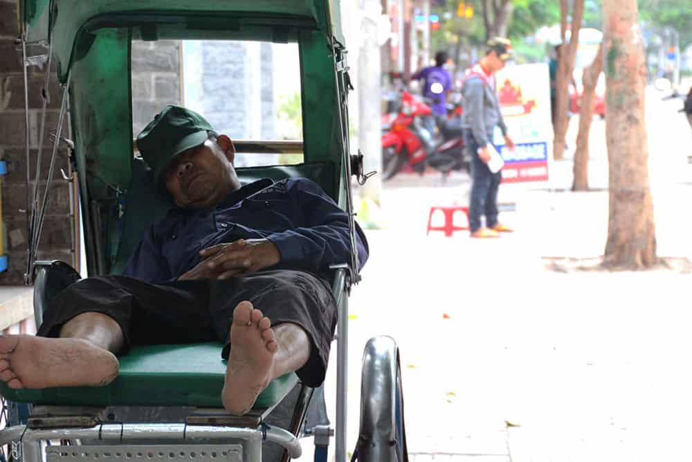 l'heure de la sieste - Vietnam
