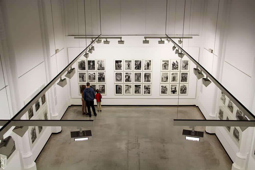 le musée de la photographie à Charleroi-belgique