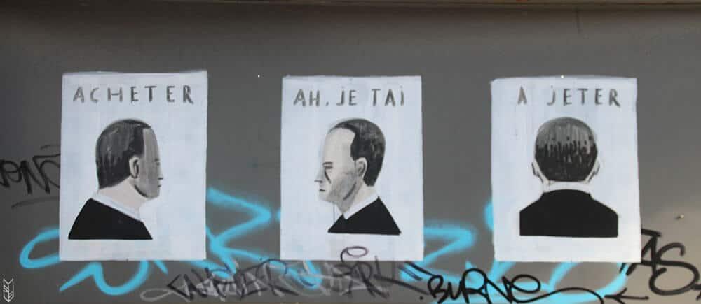 street art, Charleroi en Belgique
