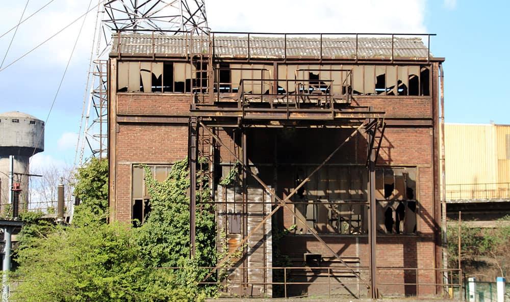 les usines désafectées de Charleroi