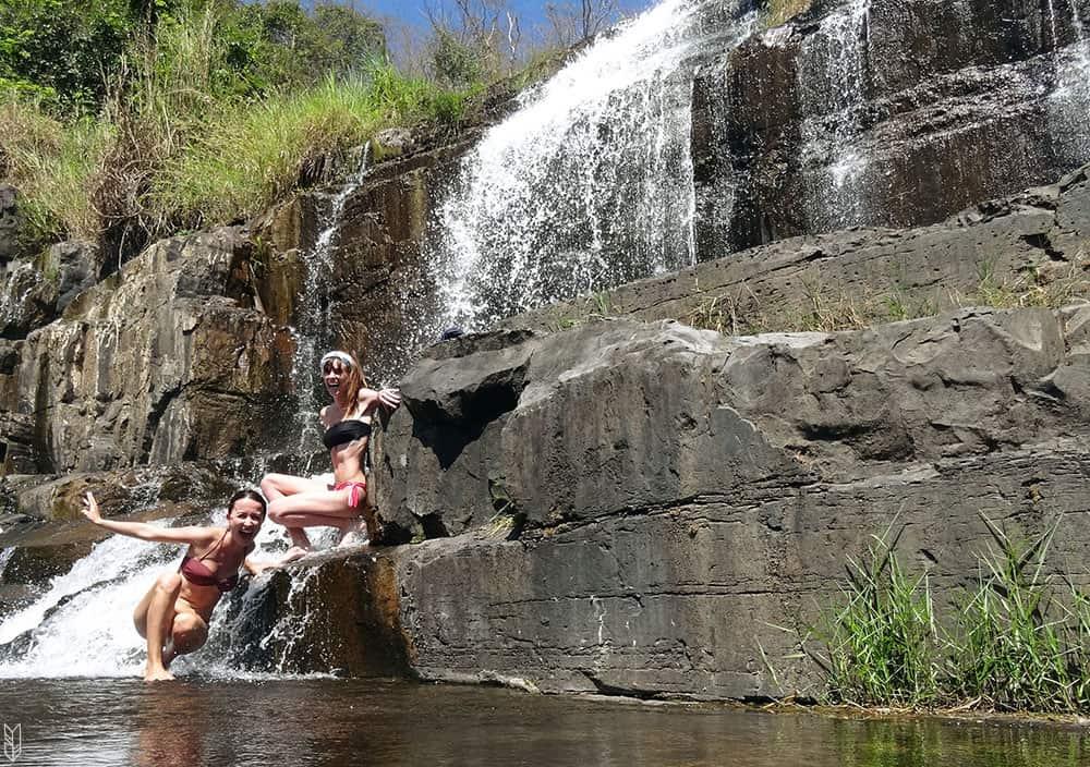 les cascades de Pongour au Vietnam