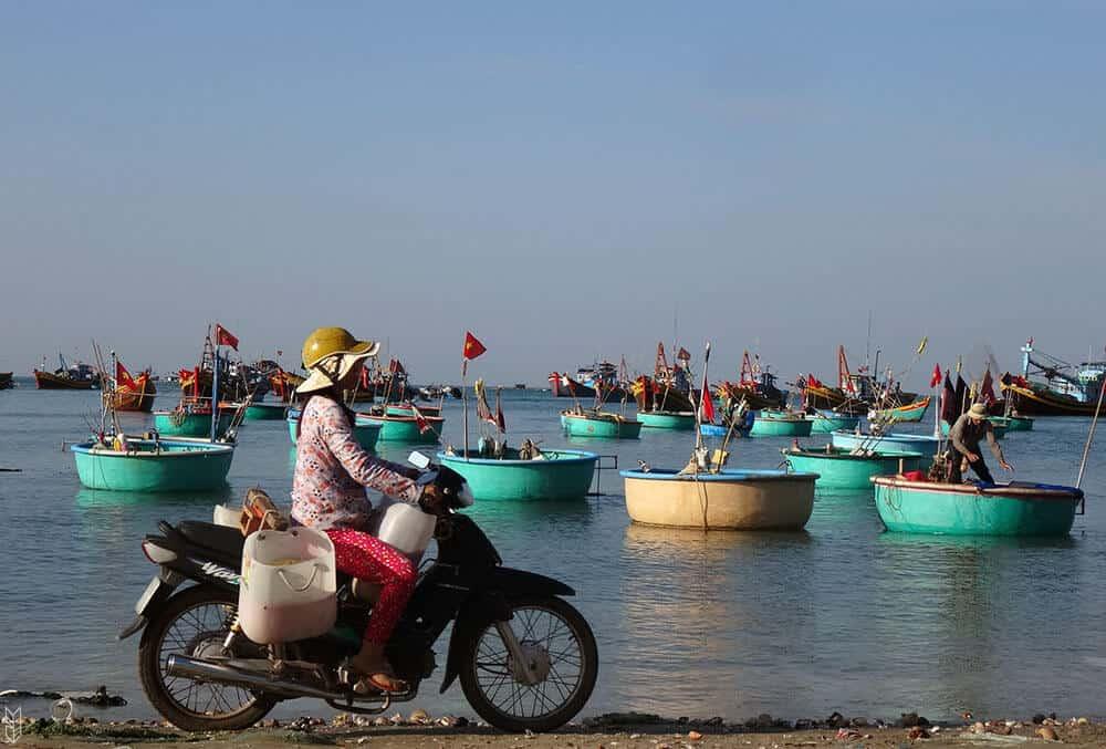 le marché de Hue - Vietnam