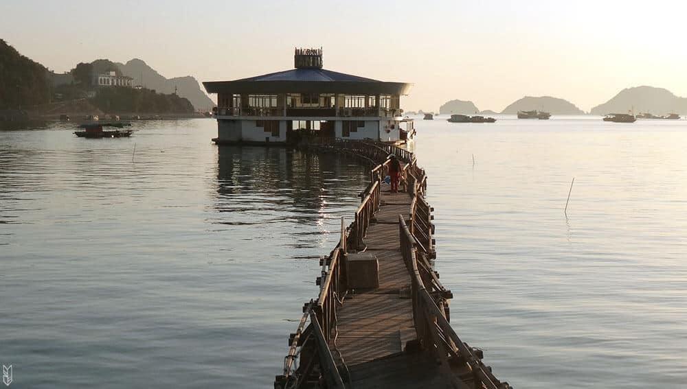 l'île de Cat Ba iau Vietnam
