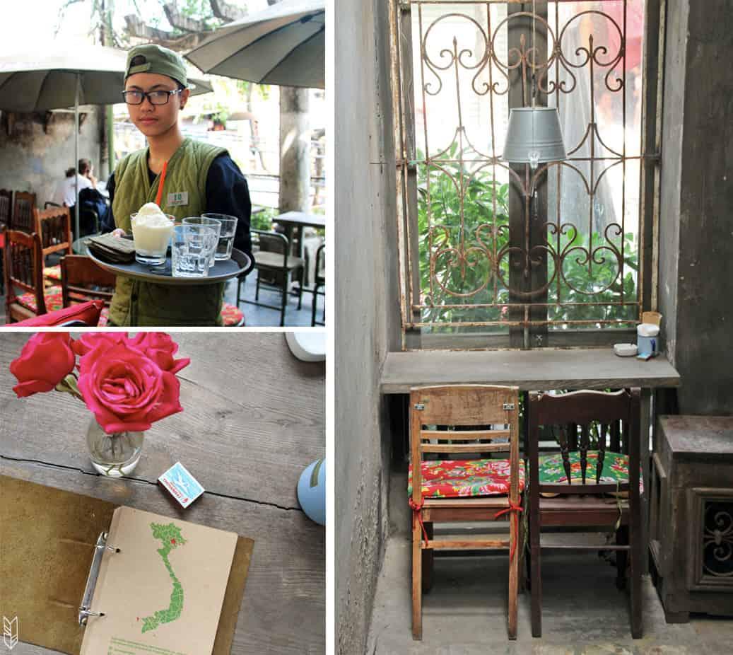 Cong Cafe à Hanoi
