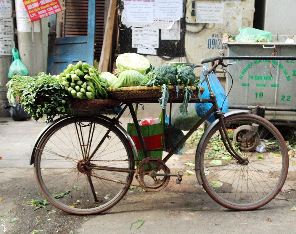 les marchands d'Hanoi
