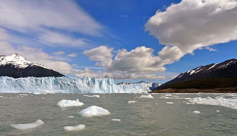 voir le glacier Perito Moreno