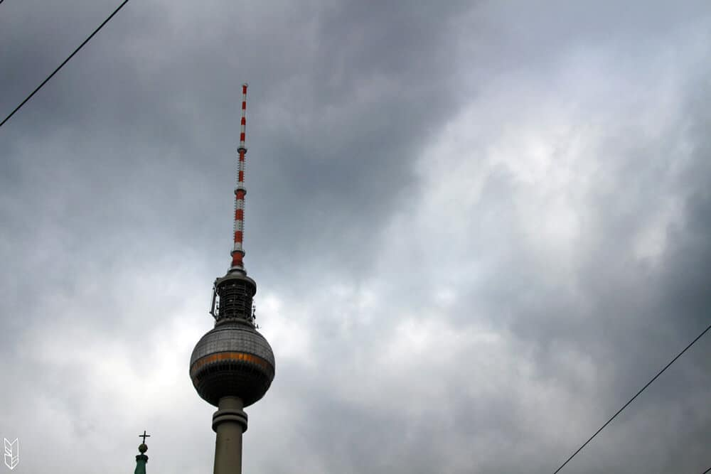 la tour Alexanderplatz